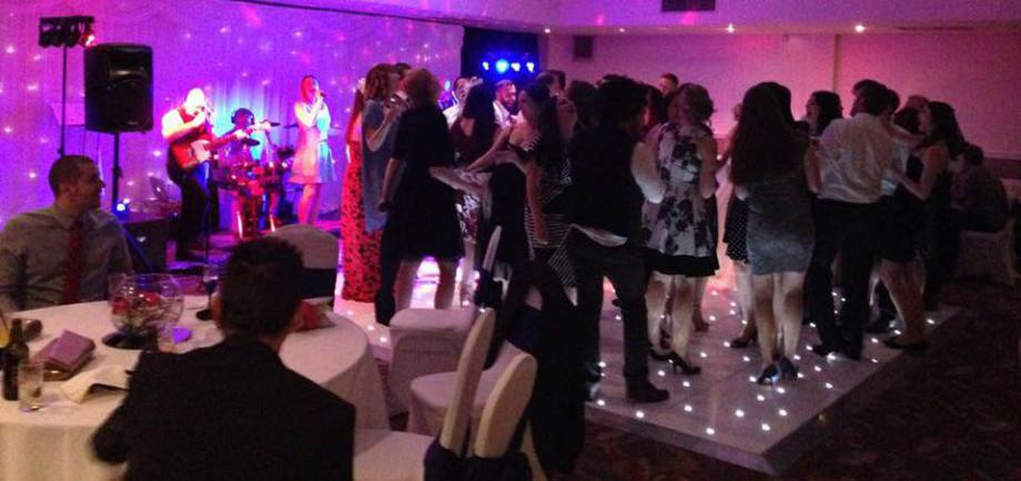 Live wedding band for hire Birmingham