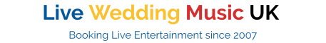 wedding entertainment agency uk